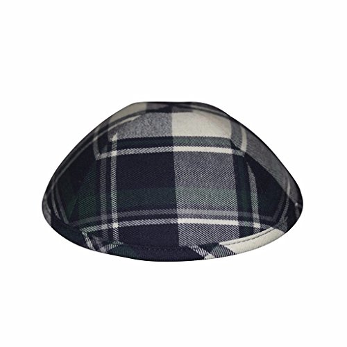nice iKIPPAH Pattern Green Prepster 8.5 inch Yarmulke for sale