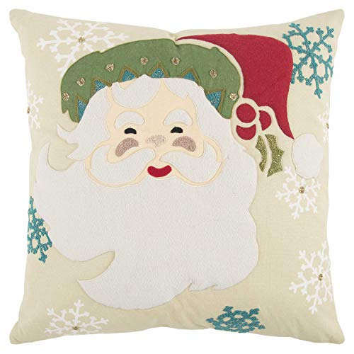 (Rizzy Home T13309 Decorative Down Filled Throw Pillow 20