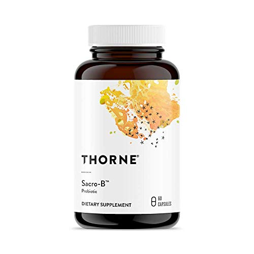 Thorne Research - Sacro-B - Beneficial Yeast for the GI Tract - 60 Capsules