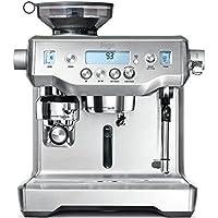 Sage Appliances Espresso-Maschine, Gebürstetes Edelstahl