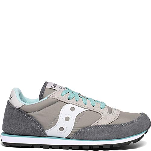 Saucony Originals Women's Jazz Low Pro Sneaker,Grey/White,7.5 M US
