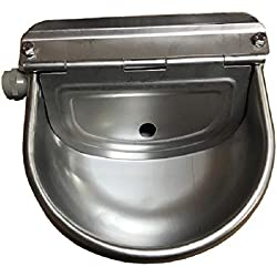 Stainless Steel Horse Automatic Animal Stock Waterer by Rabbitnipples.com