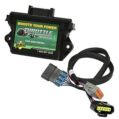 BD Diesel 1057731 Throttle Sensitivity Booster Incl. Version 2 Small Module/Tie Wrap/Harness Throttle Sensitivity Booster