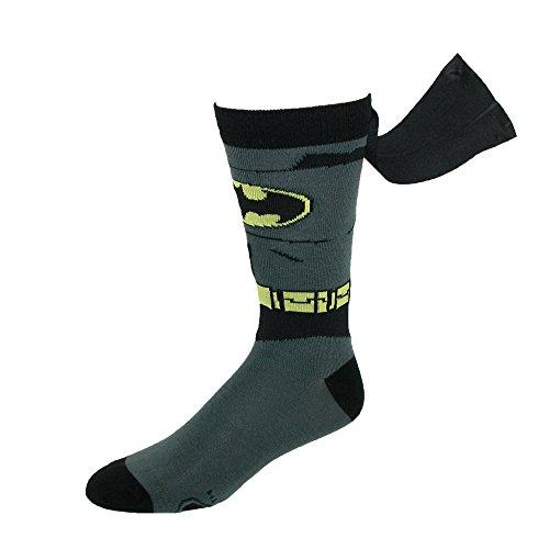 BioWorld-Mens-DC-Comics-Batman-Suit-Up-Caped-Socks