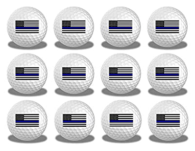 Thin Blue Line Golf Balls 12 pk