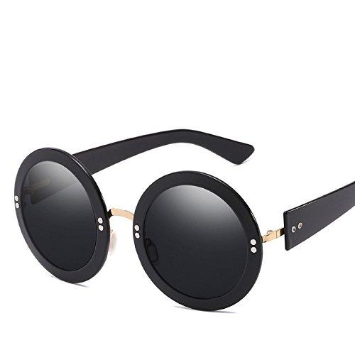 Retro De Redondo Sol Vacaciones No4 De Sombrillas Personalidad Moda Viajar Gafas Gafas Marco Sol NO3 Mujer Conducir ArpXvAUW5