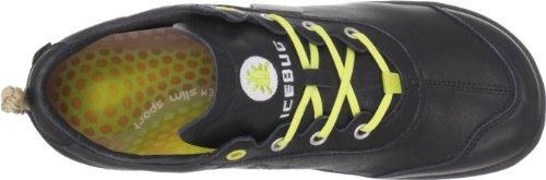 Icebug EStilo C9901A - Zapatillas de cuero unisex Negro (Schwarz (Black))