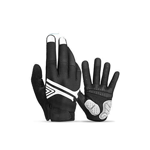 Voic-A Sport Shockproof MTB Road Full Finger Reflective Bicycle Glove for Men Woman