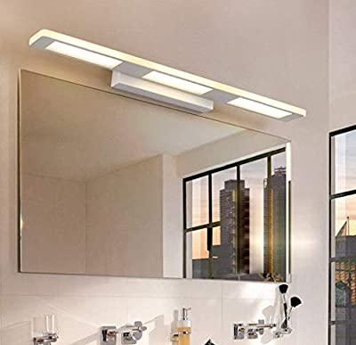 Dinns Wall Lamp Bedroom in Modern for Reading Bathroom Led Lighting with Watertight Cold-Rolled Tubes Warm White Light Square/Green Hot 37Cm/12W