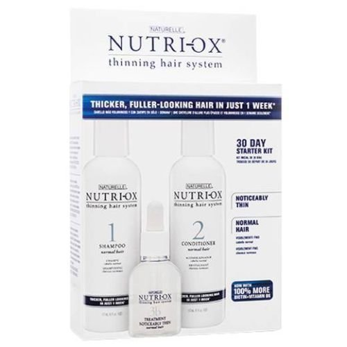 Noticeably Thin (Nutri-ox 30 Day Starter Kit for Noticeably Thin Hair Normal Hair Loss Treatment Fast Shipping)