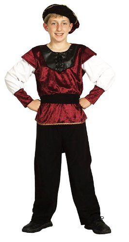 Childrens Renaissance Prince Fancy Dress Costume Tudor Medieval Outfit 11-13 Yrs  sc 1 st  Amazon UK & Childrens Renaissance Prince Fancy Dress Costume Tudor Medieval ...