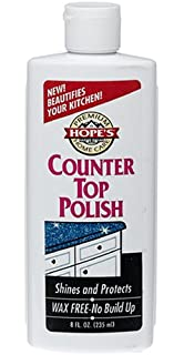 Hopeu0027s Premium Home Care, Wax Free Counter Top Polish, 8 Oz, 1 Count