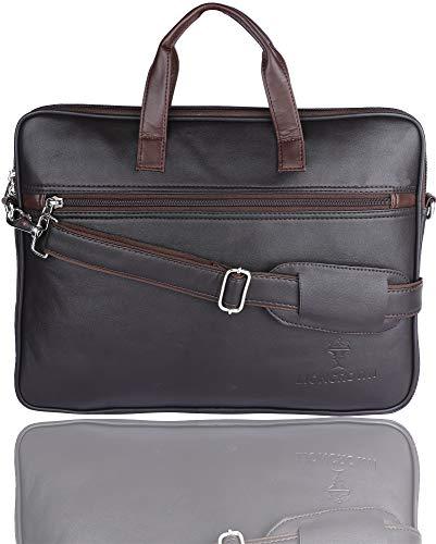 Lioncrown Parker Faux Leather 15.6 inches Laptop Messenger Bag
