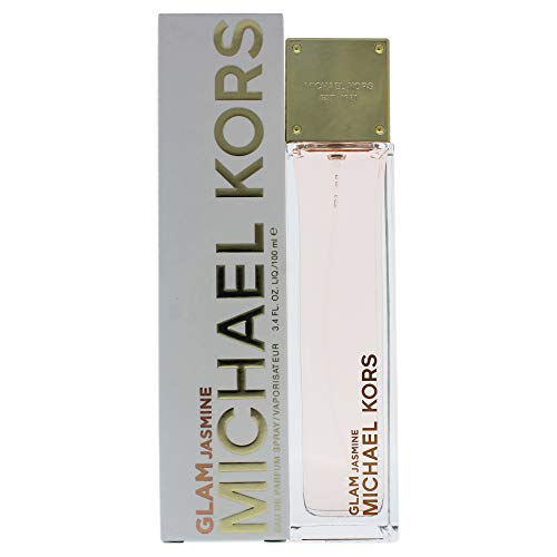 Michael Kors Glam Jasmine Eau de Parfum Spray for Women, 3.4 Ounce (Usa Michael Kors)