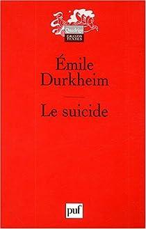 Le suicide par Durkheim