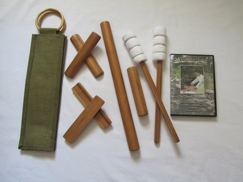 Bamboo-fusion Stick Set with Table Version DVD