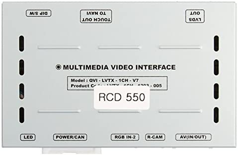 Car Video Interface Multimedia Adapter for Volkswagen with RCD 550 System