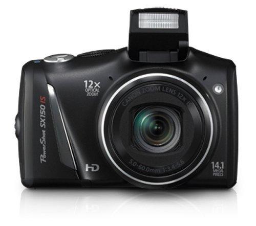 amazon com canon powershot sx150 is 14 1 mp digital camera with rh amazon com Canon PowerShot SX150 Amazon Gray Canon PowerShot SX150 Is Black