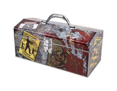 Box Zombie (Sainty Art Works 24-059 Zombie Art Deco Tool Box)