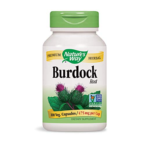 Nature's Way Burdock Root (COG), 100 Capsules (Pack of 2)
