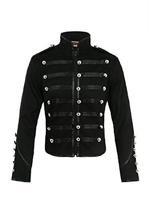 Jawbreaker Men's Steampunk MCR Military Parade Jacket at