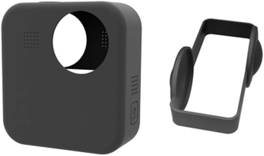 Accessories for Gopro Max Aluminum Alloy Case Frame Housing Shell with 2 Lens Cap and 2 Protective Lens