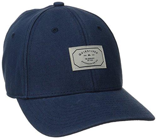 Quiksilver Men's Plank Strapback Hat, Dark Denim, One Size
