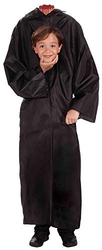 Child Headless Boy Costume - Pick Size (Large, Black)