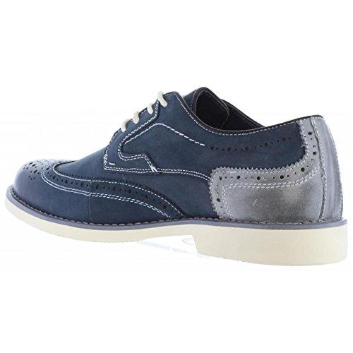 XTI Schuhe Für Herren 46461 NOBUK Navy