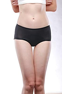 YOYI FASHION Women Mesh Holes Breathable Leakproof Period Panties Mulit Pack US Size XXS-4XL/11