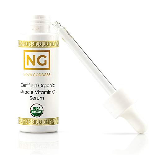 Super Concentrated Vitamin C Serum. Improve the Look and Feel of Your Skin. Diminishes Wrinkles, Age Spots, Under-Eye Circles, Blemishes & Redness almost immediately. USDA Certified Organic