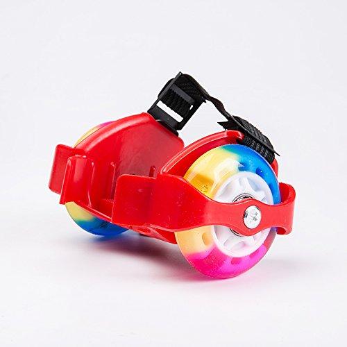 U.Buy - Zapatillas de skateboarding de Caucho para niño Red