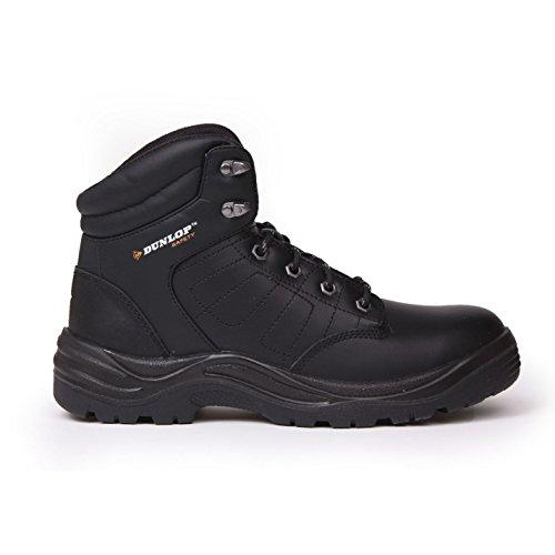 Dunlop Herren Jungen Dakota Arbeitsstiefel Sicherheitsschuhe Stiefel Schuhe Schwarz