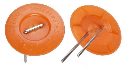 Paslode 650592 FasCaps 18 Gauge Plastic Caps and Staples, 1680 Count