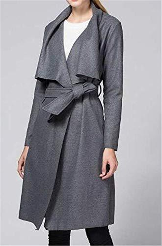 El Manteau Printemps Hipster Costume Femme Automne Mode Longues Unicolore Parka Trench CvpqwRa