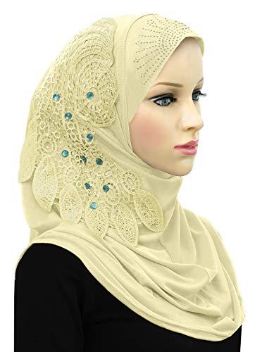 One Piece Hijab Dream Catcher Amira Instant Headscarf for Women ()