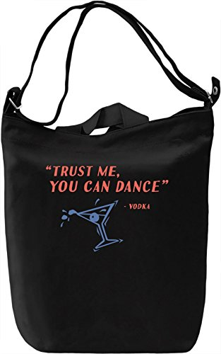 You can dance Borsa Giornaliera Canvas Canvas Day Bag| 100% Premium Cotton Canvas| DTG Printing|