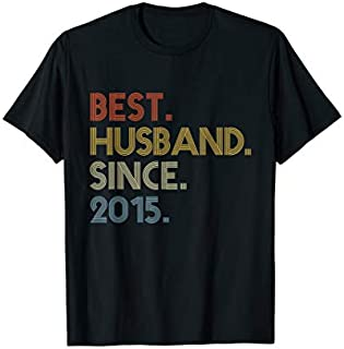 [Featured] Vintage Best Husband 2015 4th Wedding Anniversary in ALL styles | Size S - 5XL