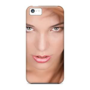 Durable Protection Case Cover For Iphone 5c(winking Look)