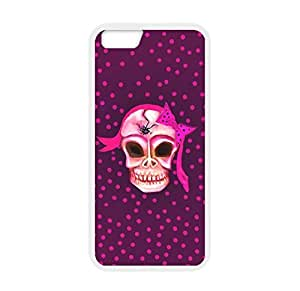 Art Designed Skull Image Made for iPhone 5/5s Only Case Cover Laser Technology 100% TPU