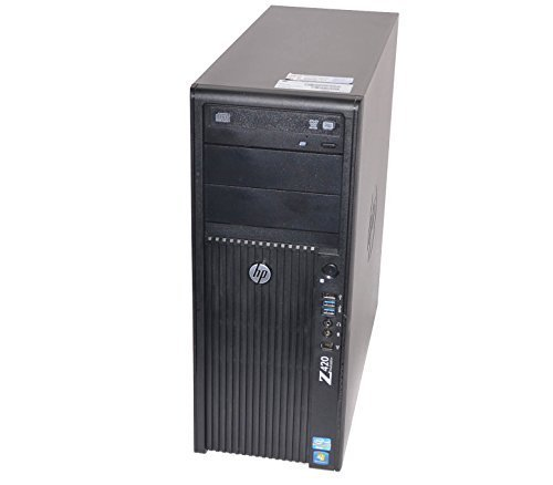 Price comparison product image HP Z420 Xeon E5-1620 3.6GHz 8GB RAM 500GB HDD DVD+RW Windows 7 Pro Workstation