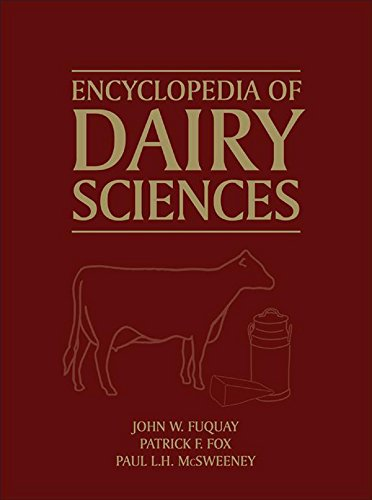 Encyclopedia of Dairy Sciences 2nd Edition, Four-Volume set Pdf