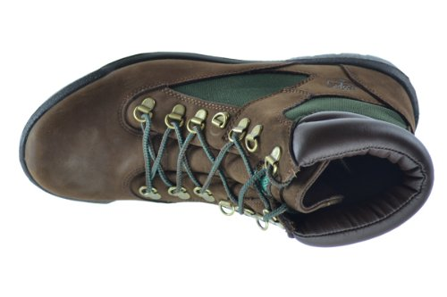 Stivale Da Uomo Woodland Field 6 Mm Marrone / Verde 72510