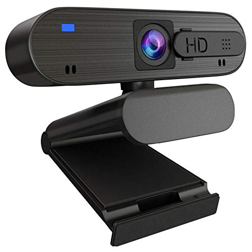 ANTZZON 1080P HD Auto Focus Webcam with Privacy Cover Built in Noise Reduction Microphone Streaming