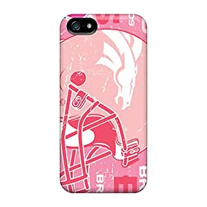 Cases Covers For Iphone 5/5s Strong Protect Cases - Denver Broncos Design