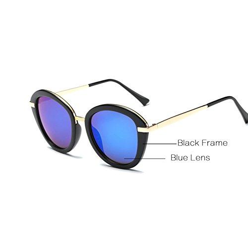 Gafas Blind C2 Elegant AT543 Zygeo de Bleu Femme Color Lunettes Lunettes Casual UVB 100 soleil Femme UVA Noir Noir Femmes Lunettes De Bleu Sol C2 xtwwnBYTqr