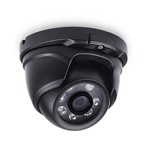 LONNKY 1080P 2.0MP HD TVI Analog Dome Camera and IP66 Waterproof Outdoor CCTV Surveillance Security System Camera with 80ft Night Vision, 3.6mm Lens Wide Angle
