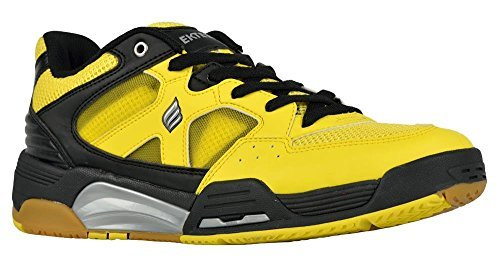 Ektelon NFS Attack Low Racquetball Shoe (10, Yellow/Black)