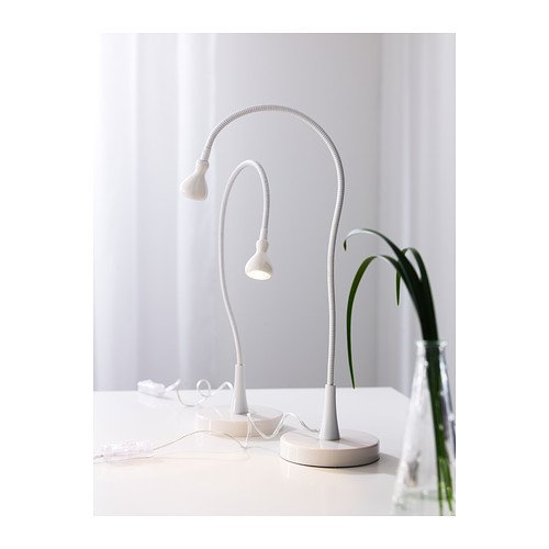 Ikea 201.696.58 Jansjo Desk Work LED Lamp Light, 24', Black