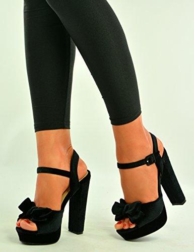 Cucu Fashion - Zapatos de tacón  mujer negro